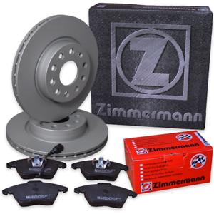 Zimmermann Bremsscheiben Ø 312 mm Beläge Vorderachse 4B5;C5 Audi A6 2,4 Avant