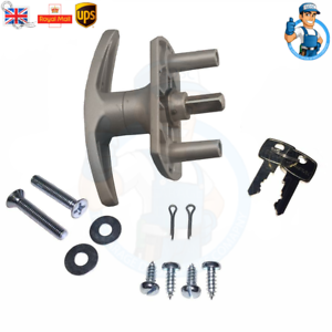 HENDERSON-Garage-Door-LOCK-T-Handle-parts-35mm-SHORT-SHAFT-Repair-Kit-Spindle