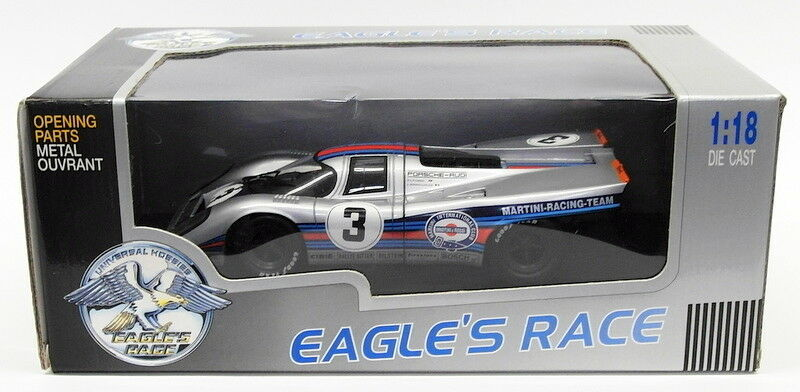 Eagle's Race 1 18 Scale 90500 - Porsche 917K Martini 1971 12H Sebring Winner