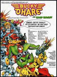 BUCKY-O-039-HARE-Original-1991-Trade-Print-AD-Toy-action-figure-TV-promo-HASBRO