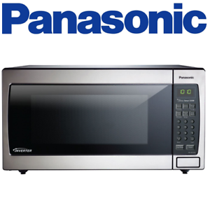 Panasonic Nn Sn766s Microwave 1 6 Cu