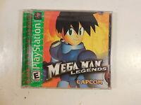 Sealed Playstation Greatest Hits Mega Man Legends Video Game Ps1 Capcom 2002