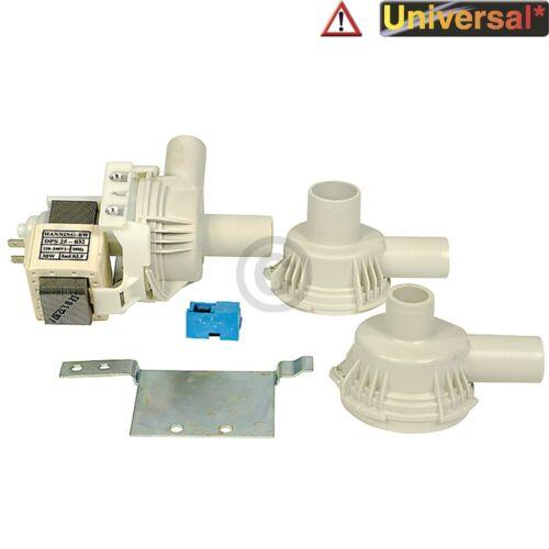 POMPA SCARICO UNIVERSALE MAGNETICO tecnologia POMPA HANNING con 3 pompe Ritaglio per waschma