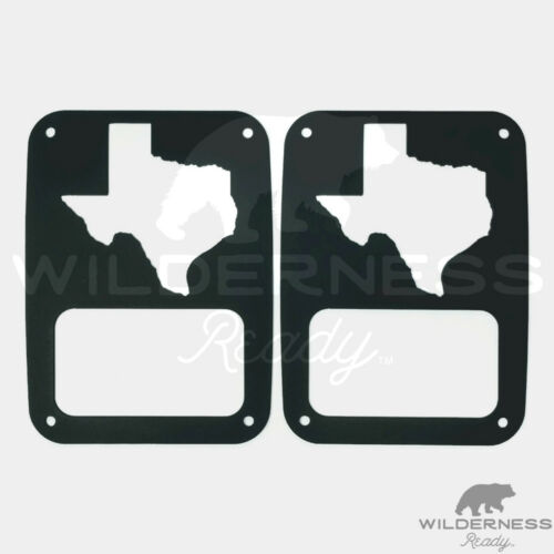 Tail Light Covers for Jeep Wrangler Texas JK 2007-2018 TJ 97-2006