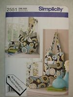 Purse Bags Sewing Pattern Simplicity 2551 See Full Listing Info