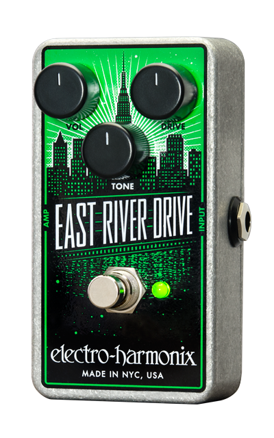 EHX Electro-Harmonix East River Drive Overdrive Guitar Effects Pedal