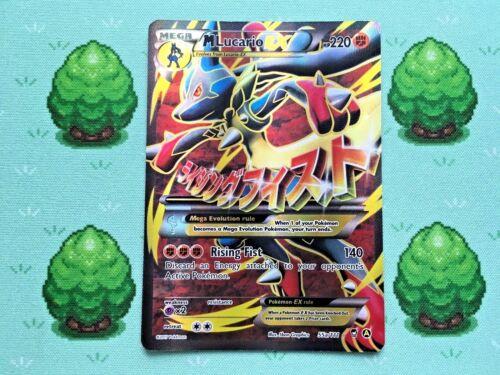 Full Art XY Furious Fists 55a//111 Pokemon M Lucario EX