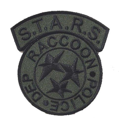 Resident Evil Racoon Police Department Armee Grün Uniform Aufnäher Patch