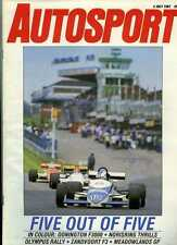 Autosport July 2nd 1987 *Donington F3000 & Zandvoort F3*