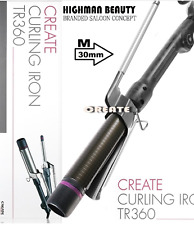 Professional Create Curling Marcel type Iron TR360 M-Szie (30mm)  MADE IN KOREA