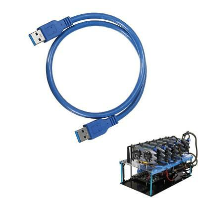 USB3.0 to USB3.0 High Type A Male To A Male-Connector 0.6m Extender Cable*