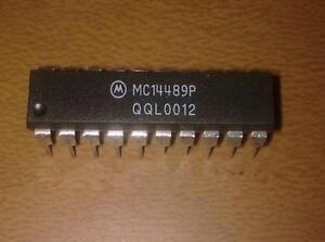 1PCS//5PCS MC14489BPE MC14489 DIP-20 MuIti-Character lED Display//lamp Driver IC