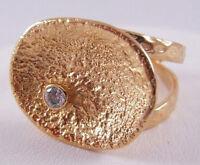Melinda Maria Vanessa Pod Adjustable Ring Gold/white