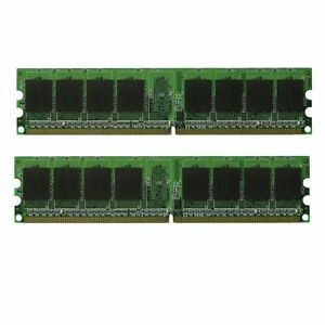 Details about NEW 2GB 2X1GB DDR2 PC2-5300 667 MHz RAM Memory Dell Precision  Workstation 390