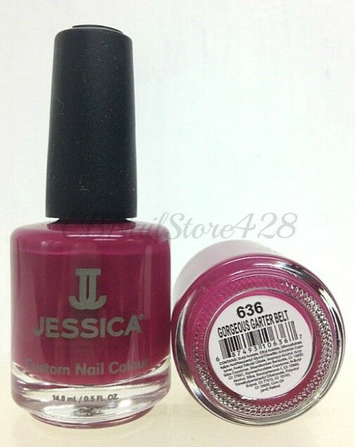 Jessica- Nail Lacquer for Natural Nail Choose Any Color .5 fl oz (Series 3)