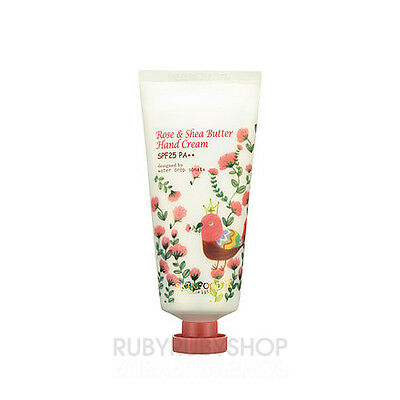 [SKINFOOD] Rose & Shea Butter Hand Cream - 50g (SPF25/PA++)