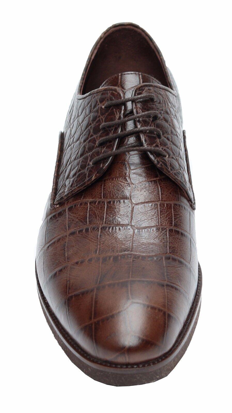 Cuero genuino zapatos caballero talla 43 marrón
