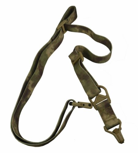 Tactical 2 to 1 Two to One Point Sling With QD Buckle Dark Wetland Camo