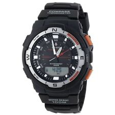 Casio Pre-owned SGW-500H-1B Twin Sensor Digital Sports Watch Compass SGW-500