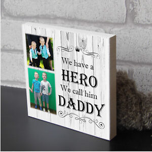 Personalised-Daddy-Dad-Fathers-Day-Plaque-Wooden-Keepsake-Photo-Block-Gift
