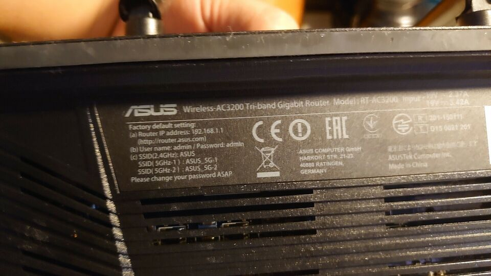 Router, wireless, Asus