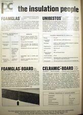 Pittsburgh Corning Amosite Asbestos UNIBESTOS Pipe Insulation Oil 1967 Ad