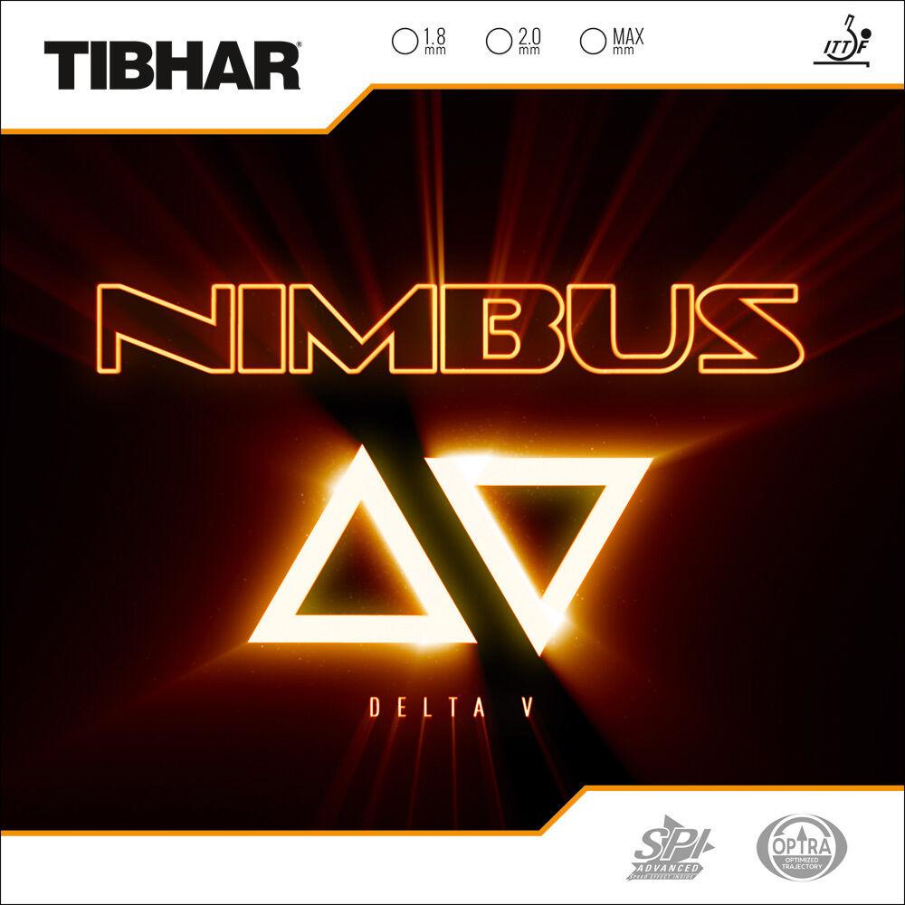 Tibhar Nimbus Nimbus Nimbus Delta V  Tischtennis-Belag Tischtennisbelag c67b0e