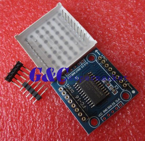 5pcs MAX7219 dot matrix module Arduino microcontroller module M58