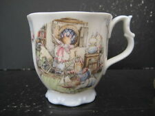 VERY RARE VINTAGE ROYAL DOULTON BRAMBLY HEDGE RIGGING THE BOAT  BEAKER MUG 1ST