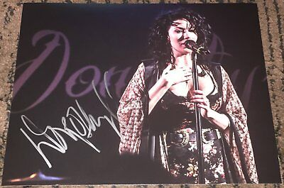 Music Obliging Dorothy Martin Band Signed Autograph Sexy 8x10 Photo D W/exact Proof Relieving Rheumatism And Cold Entertainment Memorabilia