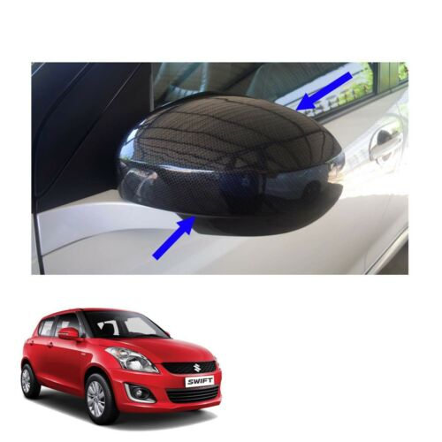 Wing Side Mirror Cover No Signal Lamp Carbon 2 Pc To Suzuki Swift 12 13-15 16