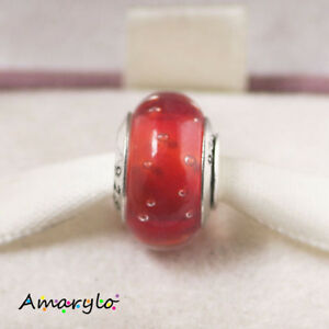 murano pandora rouge
