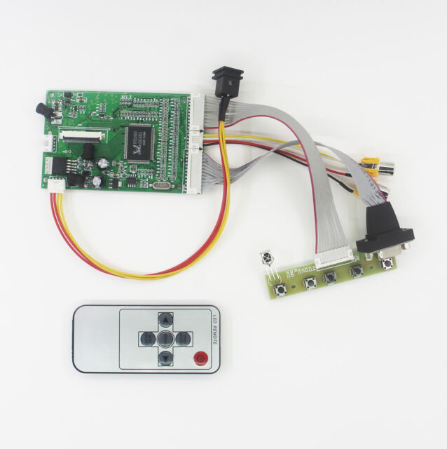 "LCD Controller for 4.3"" TFT LCD Module with 2 AV VGA Board 480x272Dots 40Pin"