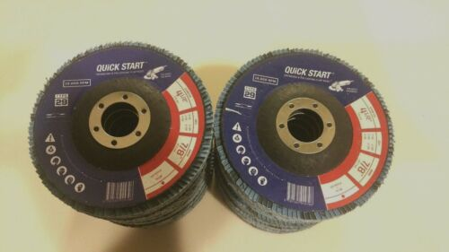 "High Density 20Pack 4.5/""x 7//8/"" Zirconia Flap Disc Grinding Wheels Free Shipping"