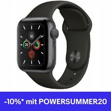 Apple Watch Series 5 (44mm) Alu 32GB GPS (MWVF2LL/A) Sportarmband spacegrey