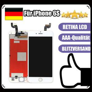Display-Fuer-iPhone-6S-LCD-mit-RETINA-HD-3D-Glas-Touch-Screen-Bildschirm-Weiss-NEU