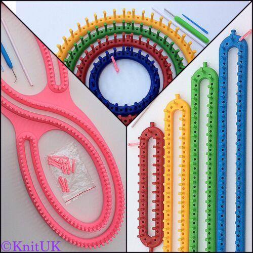 Round Set Long Set. S-Loom KnitUK Knitting Looms Jumbo Pack