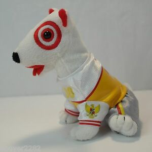 Bullseye Target Dog Stuffed Animal Plush 2008 Summer Olympics