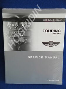2003 Harley touring service manual road king electra glide flht ultra classic