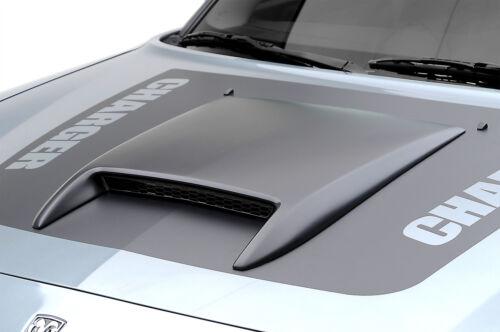 06-10 Dodge Charger 3dCarbon Urethane SRT8 Style Hood Scoop Unpainted 691301