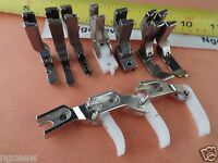 Industrial Sewing Machine Consew 230 10 Piece Zipper Foot Set