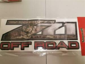 Mossy Oak Graphics FX4 Off Road Ford Truck Decal Camo