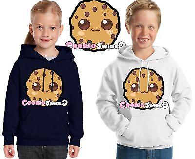 Cookie Swirl C Felpa Con Cappuccio Ragazze Youtuber Cookieswirlc Per Bambini Ragazzi Felpa Con Cappuccio Top Taglia-mostra Il Titolo Originale Eccellente (In) Qualità