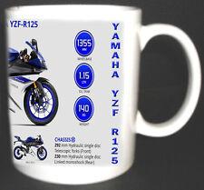 YAMAHA YZF r125 CLASSIC MOTO TAZZA. EDIZIONE Limitata tutto l'anno i colori