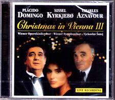 Placido DOMINGO CHRISTMAS IN VIENNA 3 Sissel KYRKJEBO AZNAVOUR Noel Stille Nacht