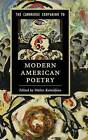 The Cambridge Companion to Modern American Poetry by Cambridge University Press (Hardback, 2015)