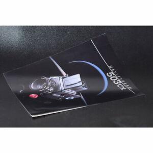 Hasselblad 503CX 1988 Broschure / Broschüre / Heft / FRANZÖSISCHER Prospekt