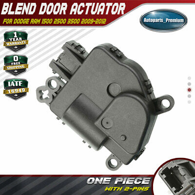 2009-2012 DODGE RAM 1500 2500 3500 A//C HEAT DEFROST MODE ACTUATOR MOPAR