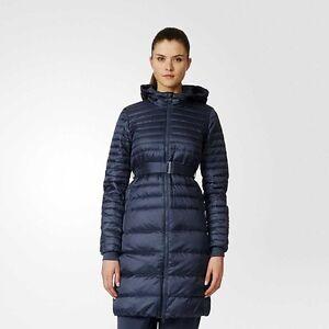 adidas WMNS Timeless Down Winter Coat women NEW AP8694 dark