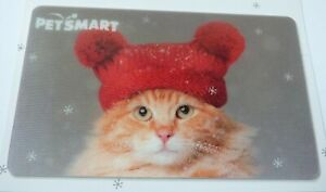 PETSMART-Gift-Card-Lenticular-CAT-with-Red-Hat-Christmas-No-Value-I-Combine